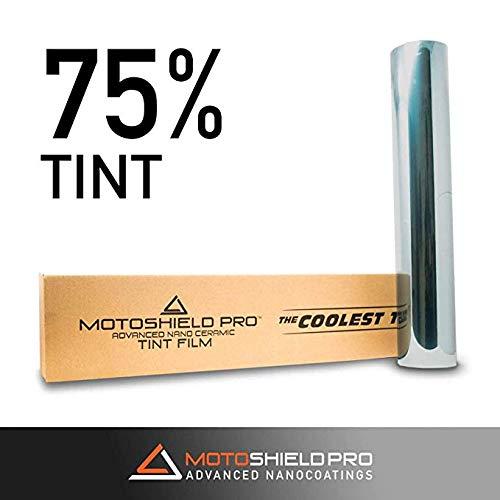 MotoShield Pro Nano Ceramic Tint Film [Blocks Up to 99% of UV/IRR Rays] 40