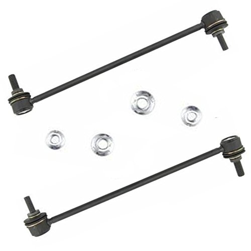 New Volvo Stabilizer Link Bar - Both (2) Brand New Front Stabilizer Sway Bar End Link - Driver and Passenger Side for 2001-09 Volvo S60 - [1999-06 Volvo S80] - 2001-07 Volvo V70 - [2003-07 Volvo XC70] - 2003-14 Volvo XC90