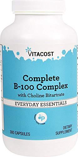 Vitacost B-100 Complex — 300 Capsules