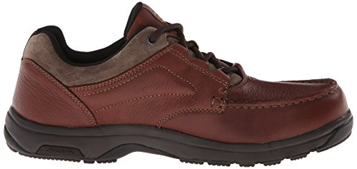 Dunham Mens Exeter Low Waterproof Oxford Brown