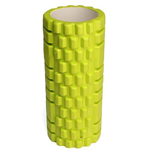 Tutoy 34X14Cm Pilates Fitness Mousse Rouleau Home Gym Massage Bossette-Vert