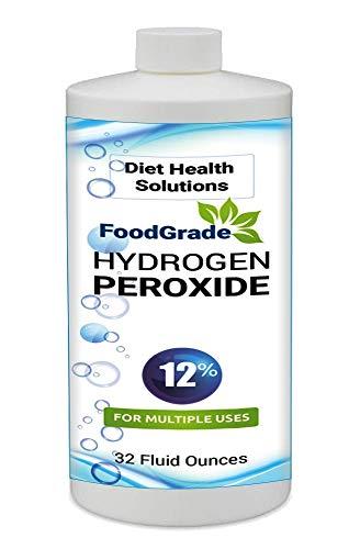 12% Food Grade Hydrogen Peroxide 32oz ~ 4 Times Stronger