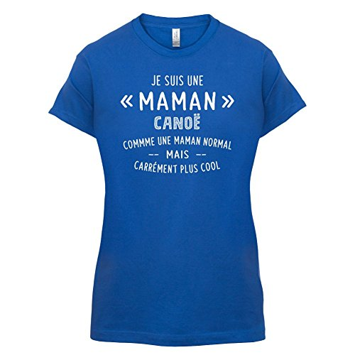 une maman normal canoë - Femme T-Shirt - Bleu Royal - L