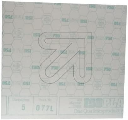 ISOPLAN 750 asbestfreie Isolierplatte 0,5x0,5m