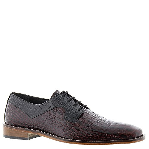 Stacy Adams Mænds Garelli Oxford Bordeaux Multi rPOz82