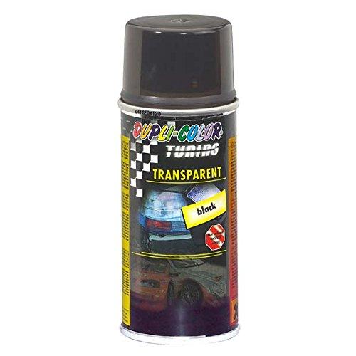 Duplicolor 430213 Spray de Tuning y Pintura Universal, Color Transparente Negro, 150 ml MOTIP-DUPLI GmbH