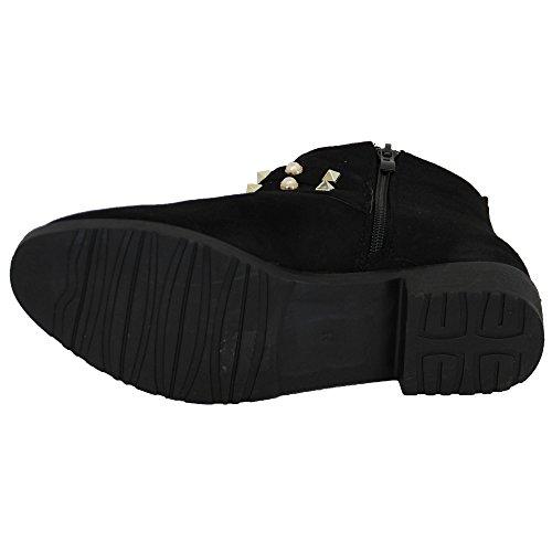Noir le1853 Bottes Femmes'élégant Générique Pomme Chaussures H8wvqxZS