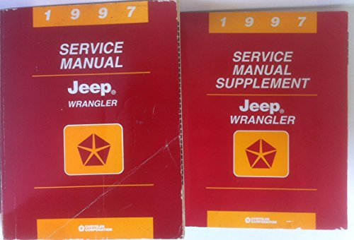 (1997 Jeep Wrangler 2-Vol. Set of Factory Dealer Shop Repair Workshop Service Manuals, (Main Service Manual and the Service Manual Supplement) )