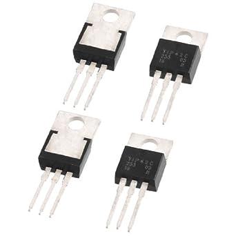 4 PC TIP41C TIP42C NPN PNP Transistor amplificador de energía audio 100V 6A