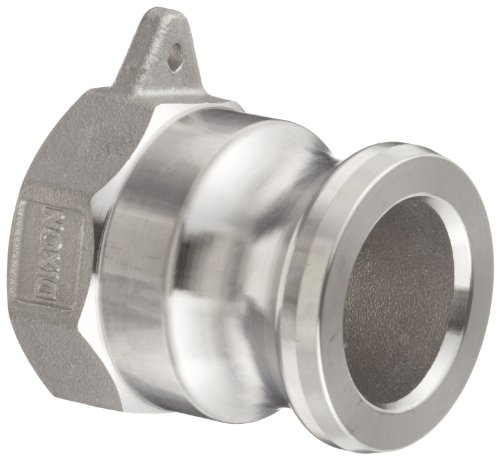 Cam Lock Coupler (Dixon G150-A-SS Investment Cast Stainless Steel 316 Global Type A Cam and Groove Hose Fitting, 1-1/2 Plug x 1-1/2 NPT Female)