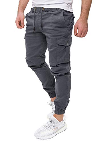 PITTMAN Pantalon Cargo Homme Casual Sport Jogging Darius Jogger
