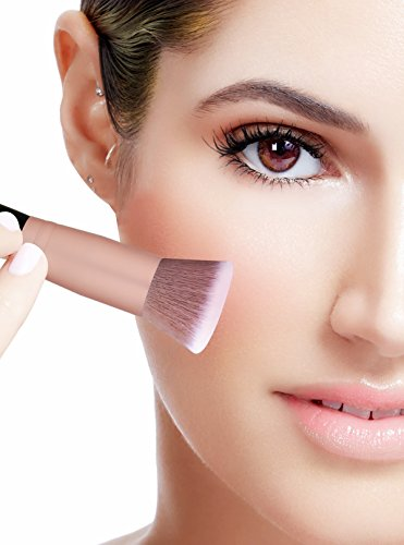 e1f5c0ab194 BS-MALL Face Foundation Powder Liquid Cream Oval Makeup Brushes Set  Synthetic Makeup brushes(