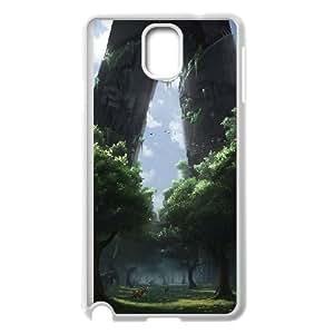Fantasy Castle Design Pattern Hard Skin Back Case Cover Potector for For Samsung Galaxy Case Note 4 color8