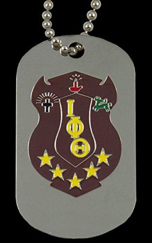 Iota Phi Theta Sigma Double Sided Silver Dog Tag ()