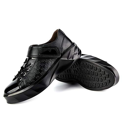 tamaño Oxford Fang Formales de shoes Charol Color EU Negro 2018 Zapatos tamaño Zapatos de pequeño 40 Negocios Negro Exterior Informal de Suela para Hombre Zapatos Hombres waBWwXqr
