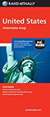 Rand McNally's United States folded map features clear, easy-to-read cartography showing all Interstate and U.S. highways, along with clearly indicated cities, points of interest, airports, boundaries, and more. Rand McNally folded maps have ...