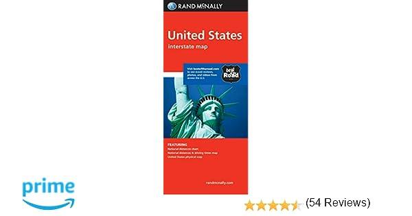 Folded Map United States Rand Mcnally 9780528881282 Amazon Com Books