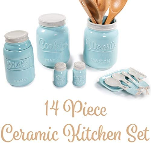 Mason Jar Kitchen Utensil Set product image