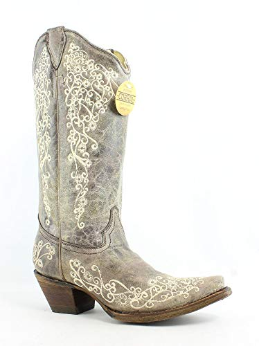 CORRAL Women's A1094 Western Boots,Brown,7.5 ()