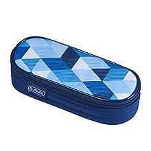 Herlitz Blue Cubes - Estuche (215 mm, 90 mm, 60 mm)
