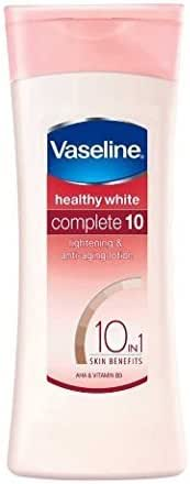 2 X Vaseline Healthy White Complete 10 Lightening Body Lotion 100ml(pack of 2) - Styledivahub …