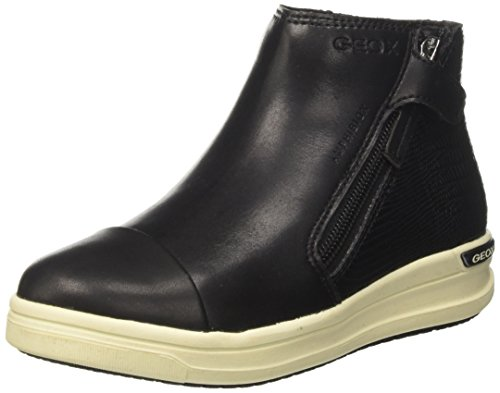 Geox J Aveup Girl B ABX A - Zapatillas Niñas Negro (Black)