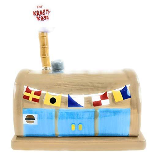 Sponge Bob Squarepants - Krusty Krab Ceramic Butterdish (Squinkies Spongebob)