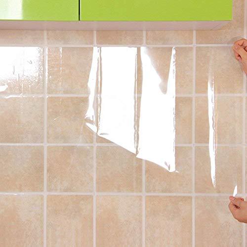 Techgifti™ Cuttlefish Kitchen Waterproof and Oil-Proof Temperature Resistant Self Adhesive Wall Sticker (Vinyl, 70X40 cm, Transparent) (B07Y3RM9XV) Amazon Price History, Amazon Price Tracker