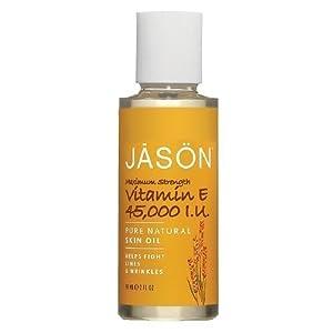 JASON Pure Beauty Oil, 45,000 IU Vitamin E Oil 2 fl oz