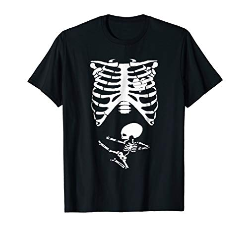 Halloween Skeleton Pregnancy Costume Ninja Baby