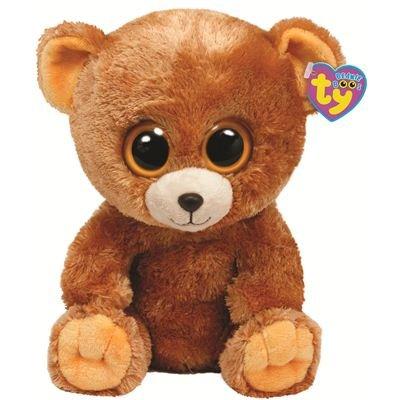 Amazon.com  Ty Beanie Boos Honey - Bear c3c883df813