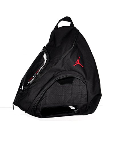 Nike Jordan Jumpman Sling Black Patent Red Zipper Book-Bag BackPack  Men Women - Buy Online in Oman.   Misc. Products in Oman - See Prices,  Reviews and Free ... 9303a16ac9