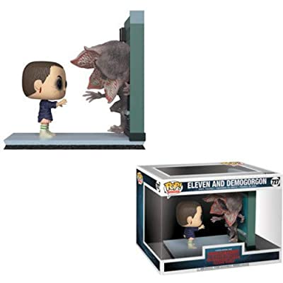 Funko 35033 Pop! Movie Moments: Stranger ThingsEleven & Demogorgon, Multicolor: Toys & Games
