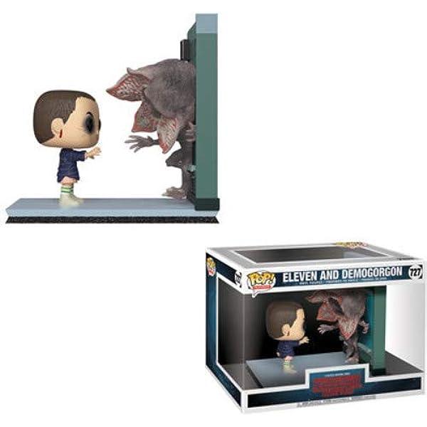 Pop! Stranger Things - Figura de Vinilo Movie Moment Eleven & Demogorgon: Amazon.es: Juguetes y juegos