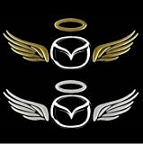 (1) 3D Angel Wing Soft Gum Style JDM Euro Cool