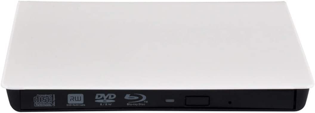 HIOD Optical Drive External Blu-Ray CD Drive USB 3.0 CD//DVD RW Burner Rewriter Support 4k for Windows//Mac OS //