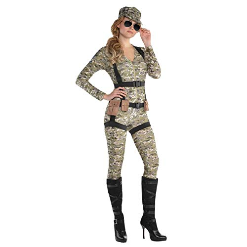 amscan Adult Skyfall Paratrooper Costume - Small (2-4) -