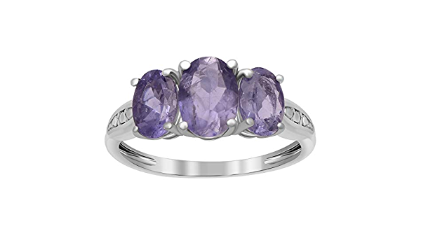 Ladies December Birthstone Ring Tungsten Carbide Ring TS0602 Tanzanite /& Diamond Wedding Band 6mm Brushed Pipe Cut Edge