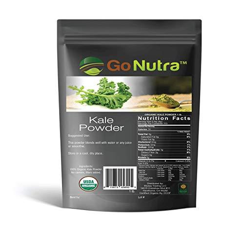 Kale Powder Organic 1 lb. 100% Pure Non-GMO Superfood
