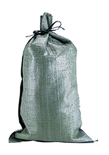 Polypropylene Olive Drab Sandbag - 15 Pieces