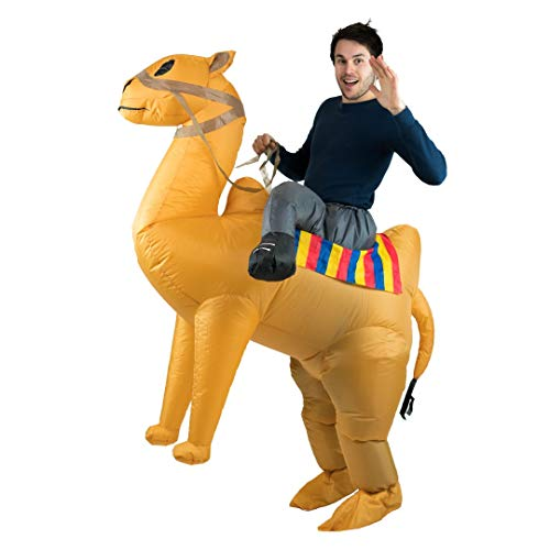 Bodysocks Adult Inflatable Camel Fancy Dress Costume