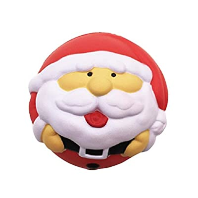 KELER Soft Santa Claus Christmas Ball Gift Decoration: Office Products