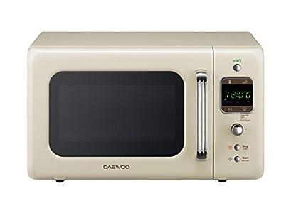 Daewoo KOR 6LBC Four à micro-ondes numérique crème