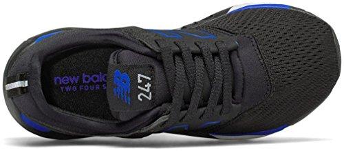 Kl247ccp New Balance Black blue Kids' rqqyc6ZEwX