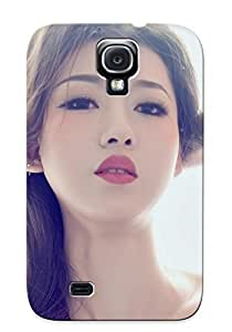 For Galaxy S4 Protective Case, High Quality For Galaxy S4 Beautiful Asian Girl Skin Case Cover