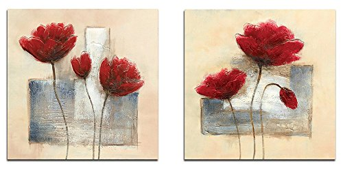 Used, Wieco Art Charming Spring Modern 2 Piece Floral Giclee for sale  Delivered anywhere in Canada
