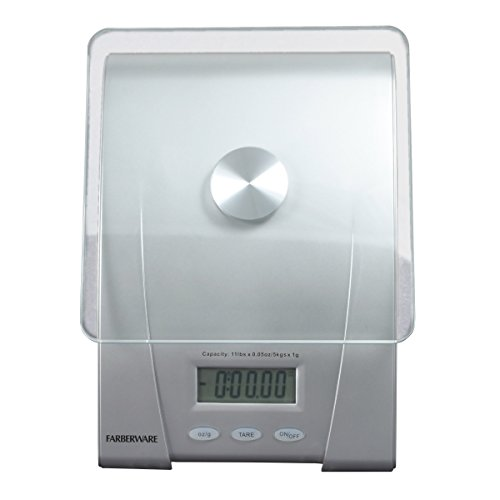 Farberware professional electronic glass kitchen and food for Professional food scale
