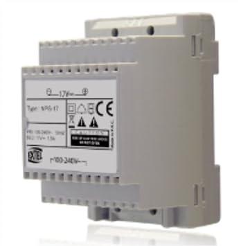 EXTEL - Alimentation modulaire 100 240 V~ 17 VDC 1 5 A pour LOONA ...