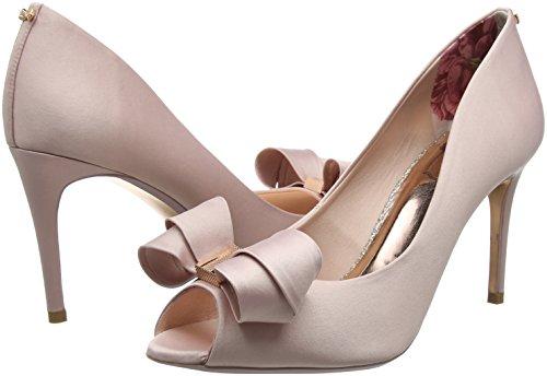 Femme Pink Rose light Ouvert Baker Ted Ballerines Vylett ffc0cb Bout nwPfxfq8vX