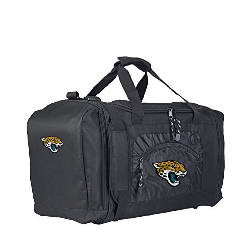 The Northwest Company Officially Licensed NFL Jacksonville Jaguars Roadblock Duffel Bag